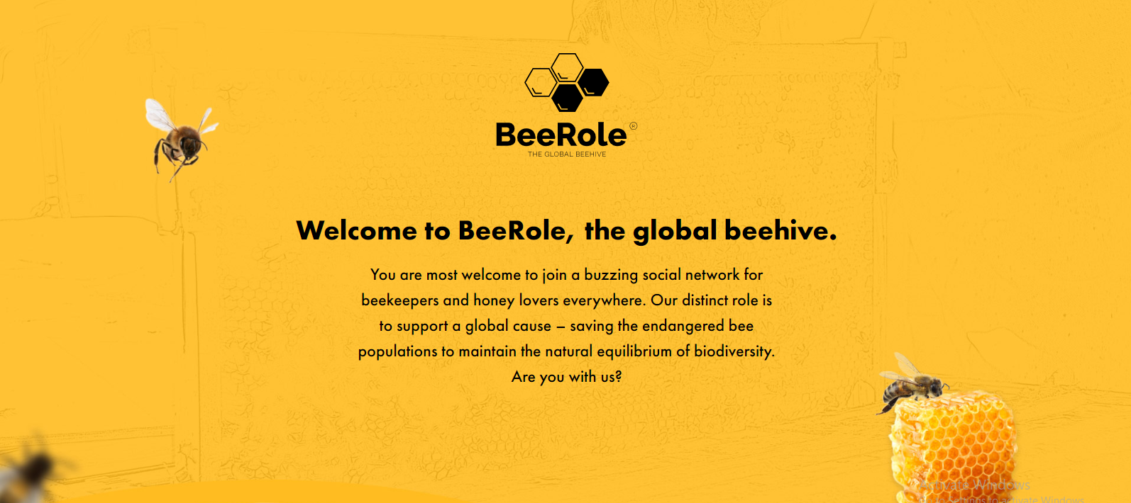 BeeRole.com – The Global Beehive